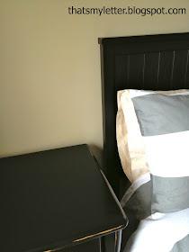 painted dresser to match headboard
