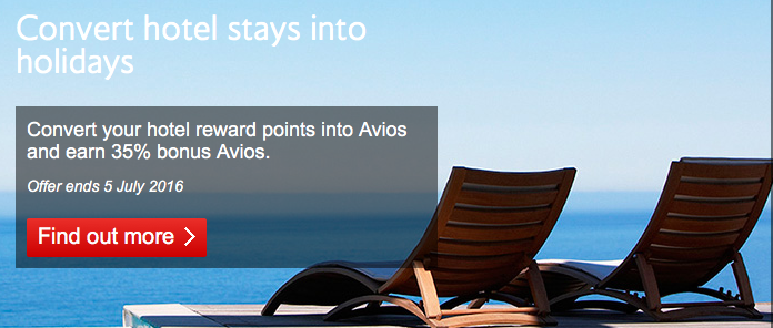 British Airways Executive Club Has Brought Back Their Transfer Bonus For Moving Points From Hotel Programs Into Avios