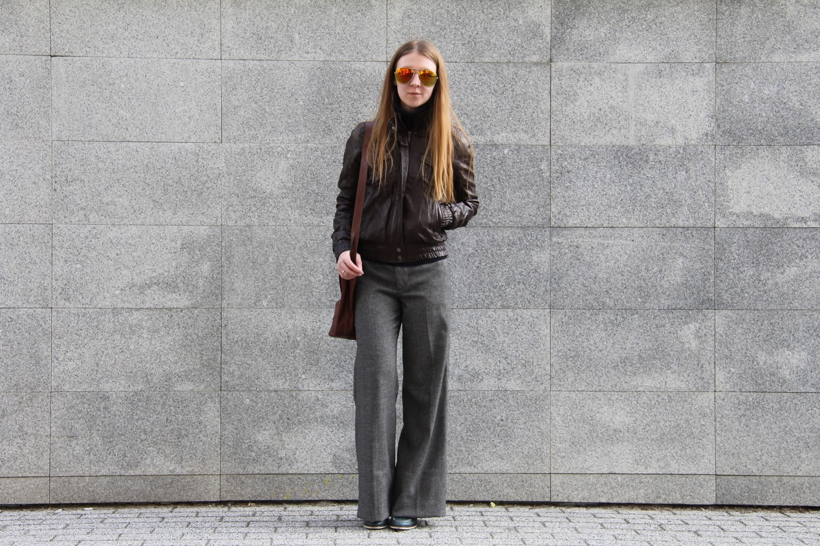 zara flared pants
