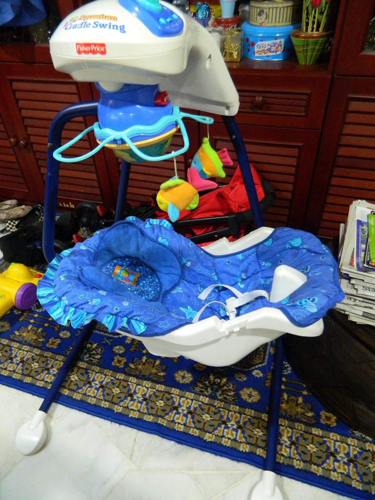 Save On Toys Fisher Price Aquarium Cradle Swing Ocean