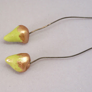 acorn headpins by BayMoonDesign