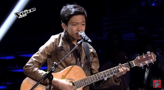 "Guitarist Andoy Patuasic sings ""Give Me Love"""