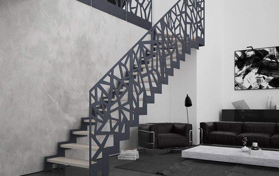 Barandas De Escaleras Modelos De Barandas Metalicas