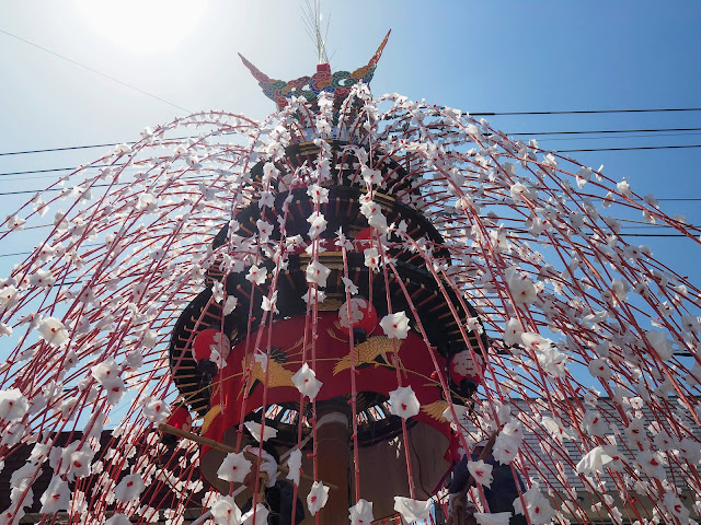 小鹿野 春祭り 鉾