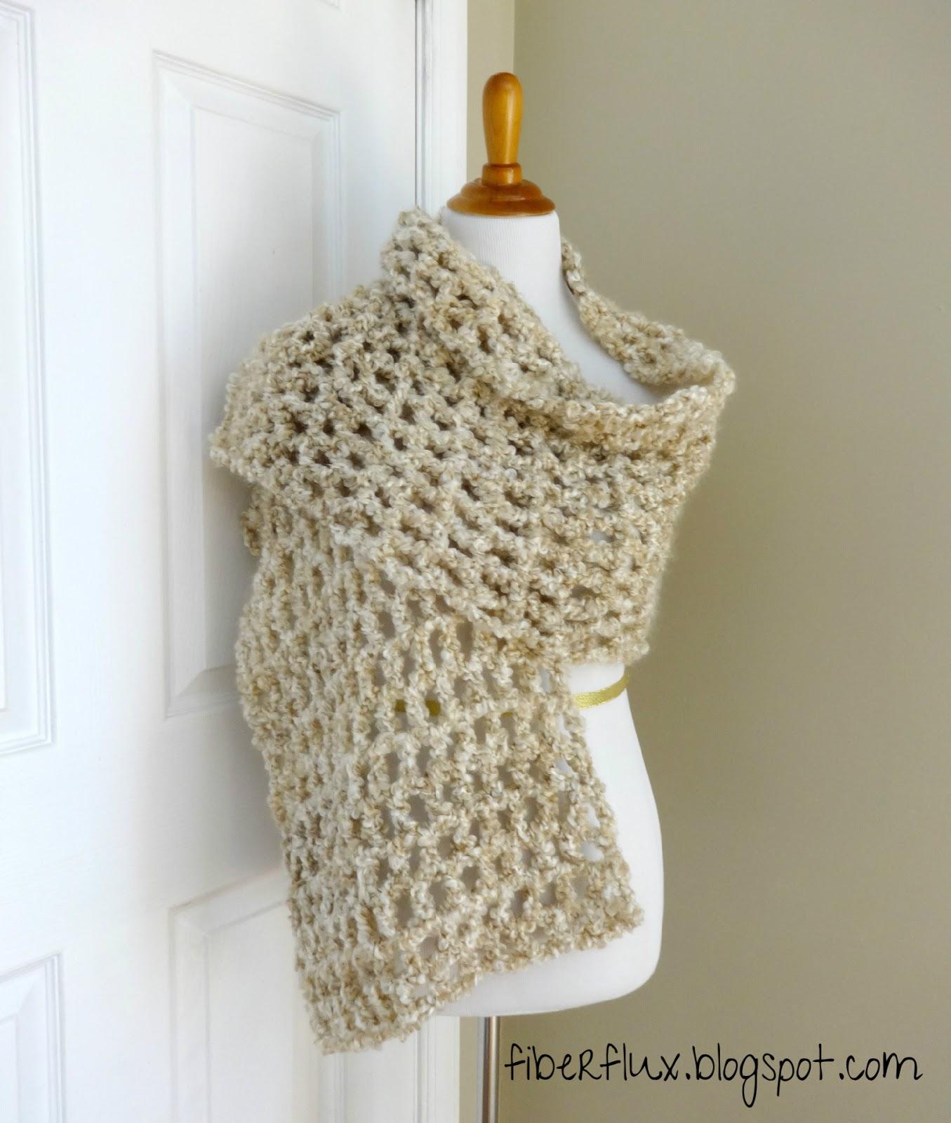 Fiber Flux Free Crochet Patternnilla Chai Shawl