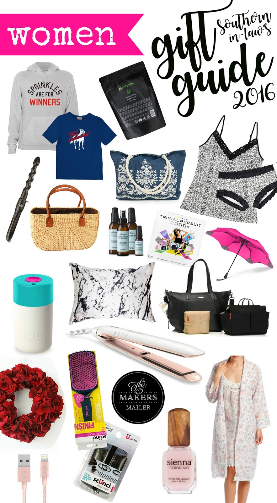 2016 Womens Christmas Gift Guide