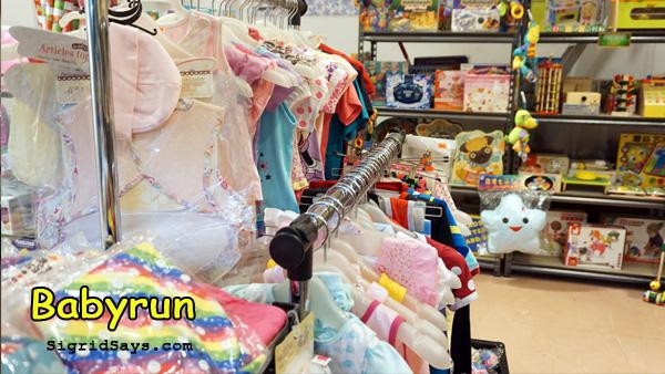 Babyrun baby needs store Bacolod