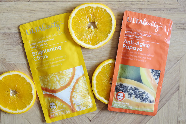 vitamin C sheet masks