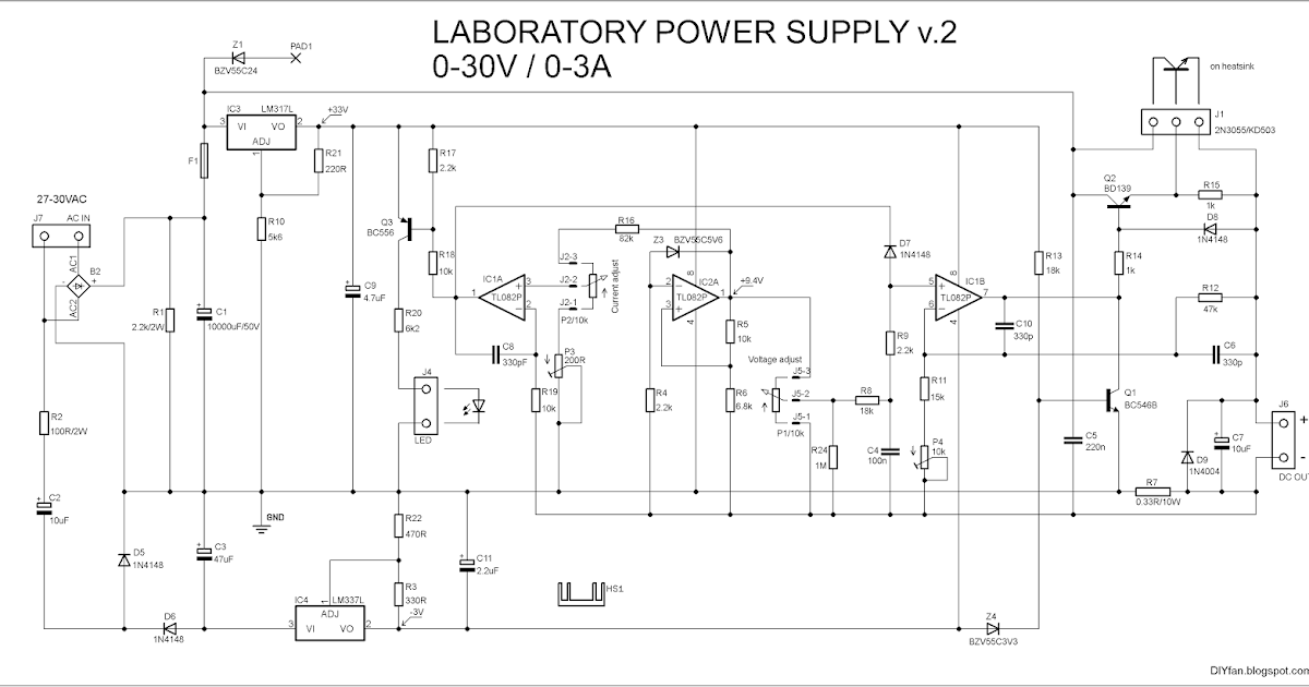 DIYfan: Adjustable Lab Power Supply - take two :)