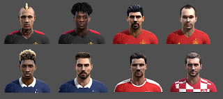 PES 2013 Euro 2016 Facepack by Adi Gjuzi