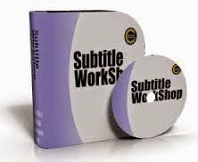 برنامج subtitleworkshop251 لترجمة الافلام