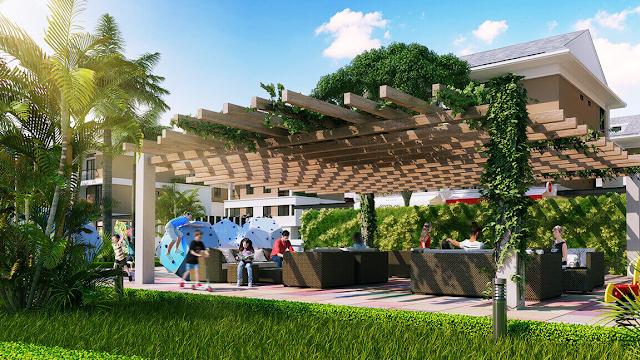 Không gian xanh dự án Marriott Executive