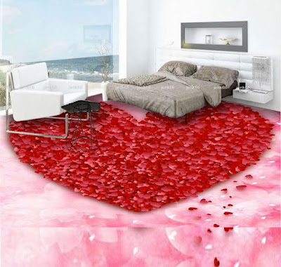 3D epoxy flooring paint for interior flooring of bathroom living room bedroom