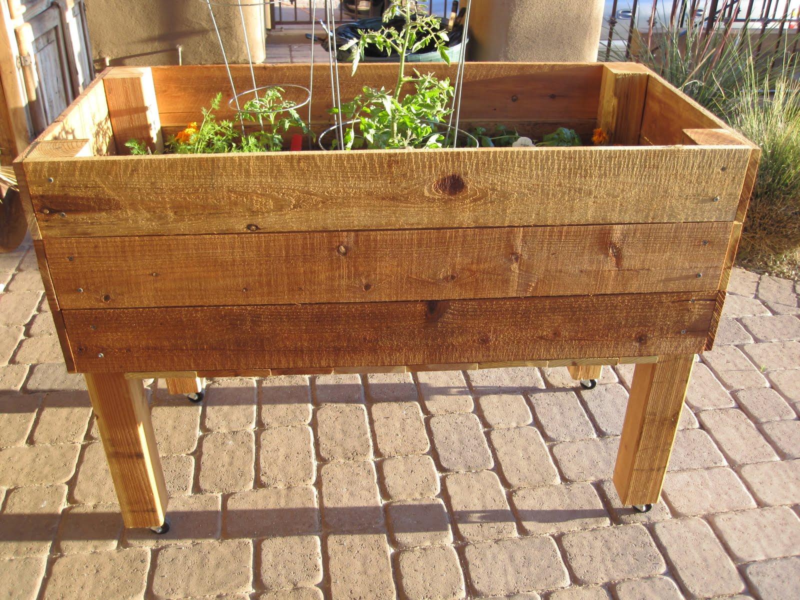 Herb Garden On Wheels | Sevenstonesinc.com