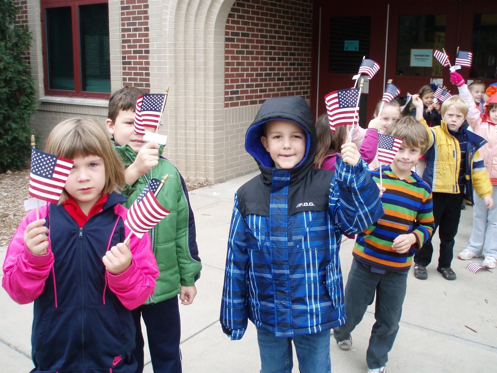 First Grade Fun Veterans Day Activities
