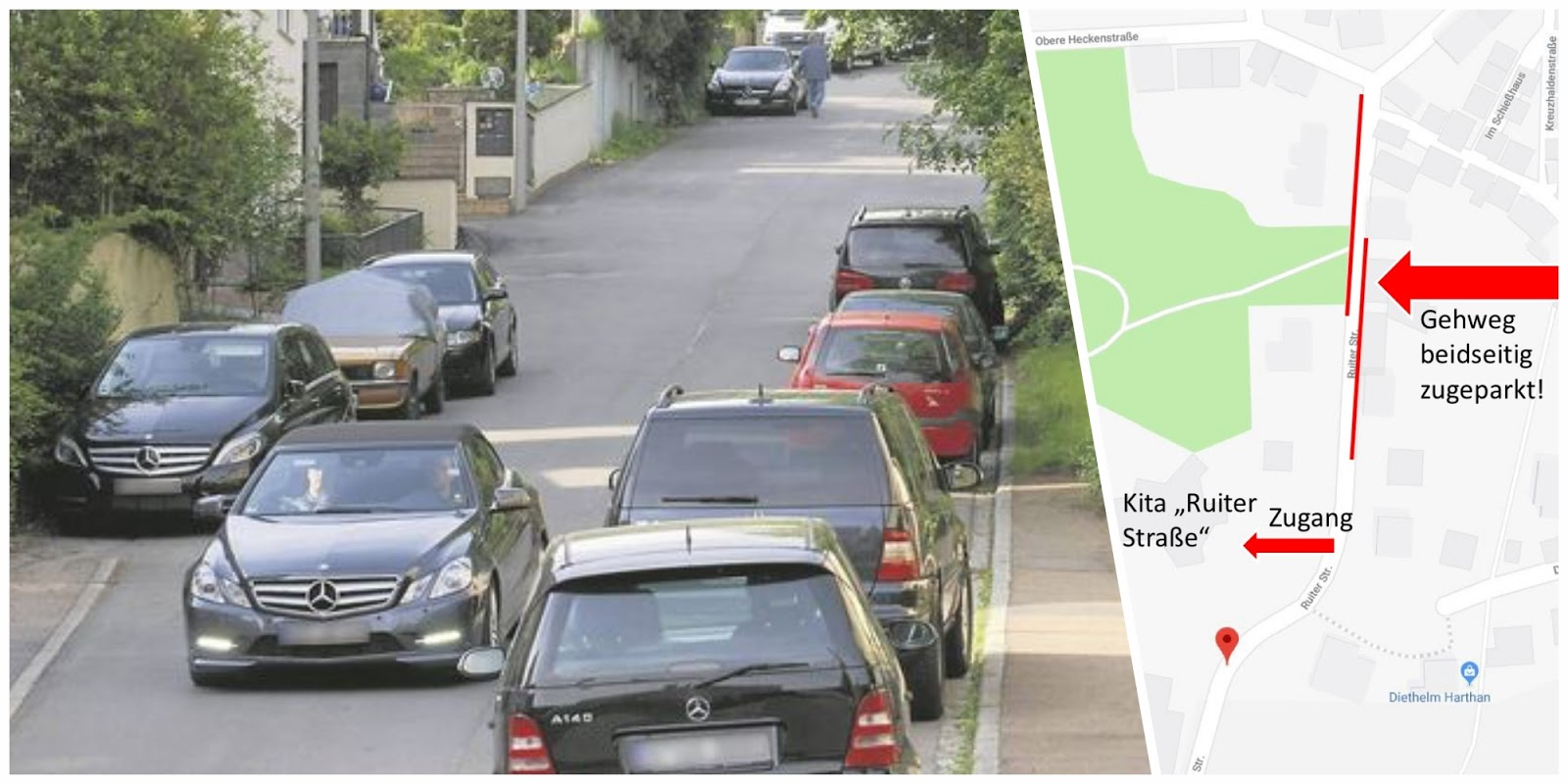 Radfahren in Stuttgart: Jedes Auto braucht im Grunde drei Parkplätze
