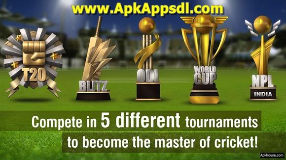 Download World Cricket Championship 2 MOD Apk 2.5.1 (All Unlocked) Terbaru 2017 + OBB DATA Free