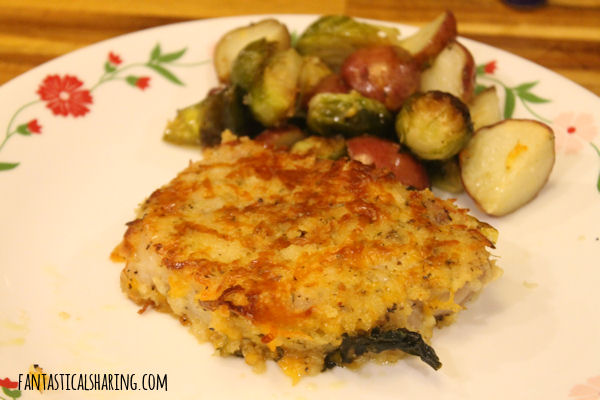 Sheet Pan Crispy Cheddar Pork Chops #recipe #pork #onepanrecipe #maindish