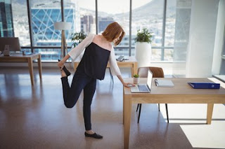 Tips for healthy posture at work