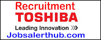 Toshiba Recruitment