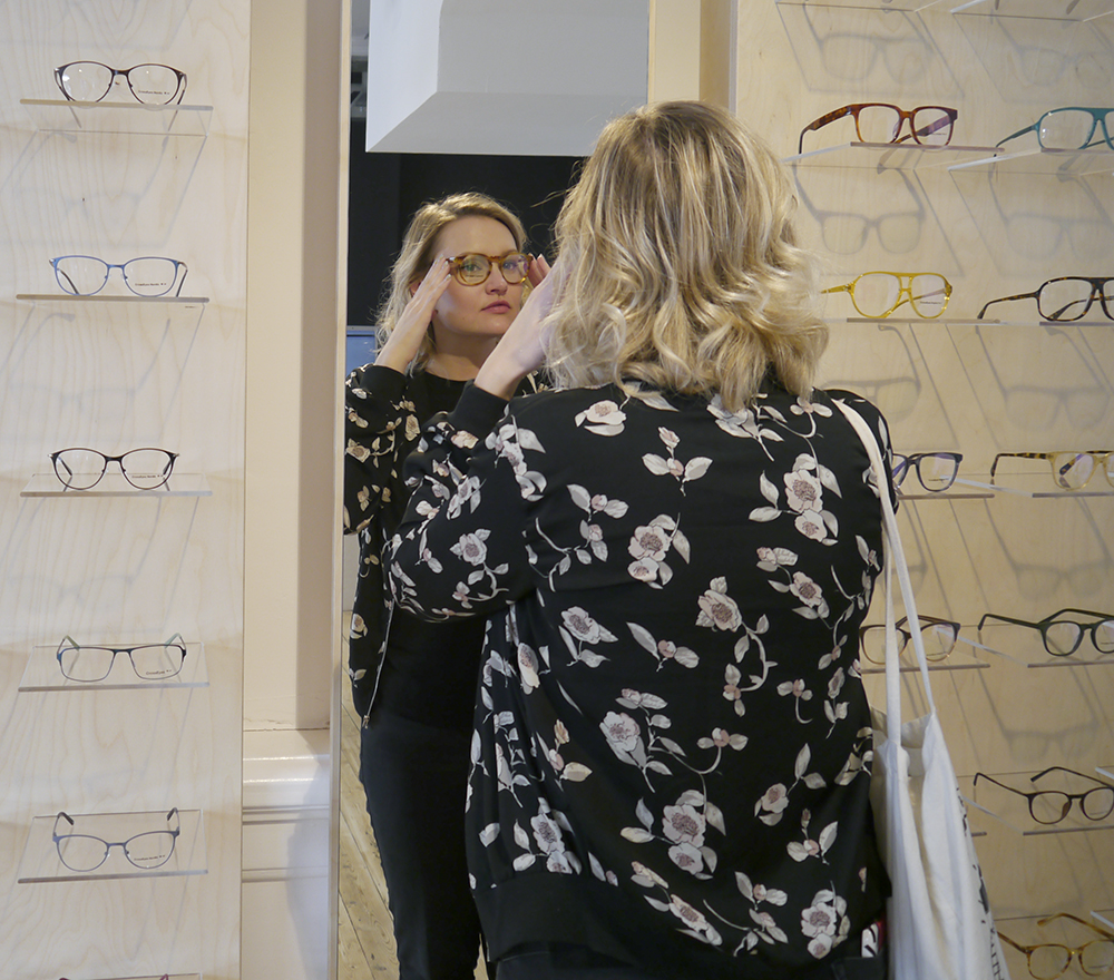 Fashion blogger Wardrobe Conversations tries out frames from new fashion-led opticians CrossEyes