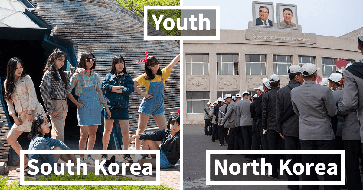 Take A Look At The Incredibly Disturbing Differences Between South And North Korea (Pictures & Video)