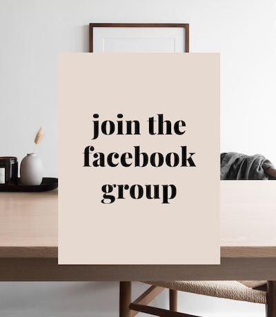 Join Our Exclusive FB Groups
