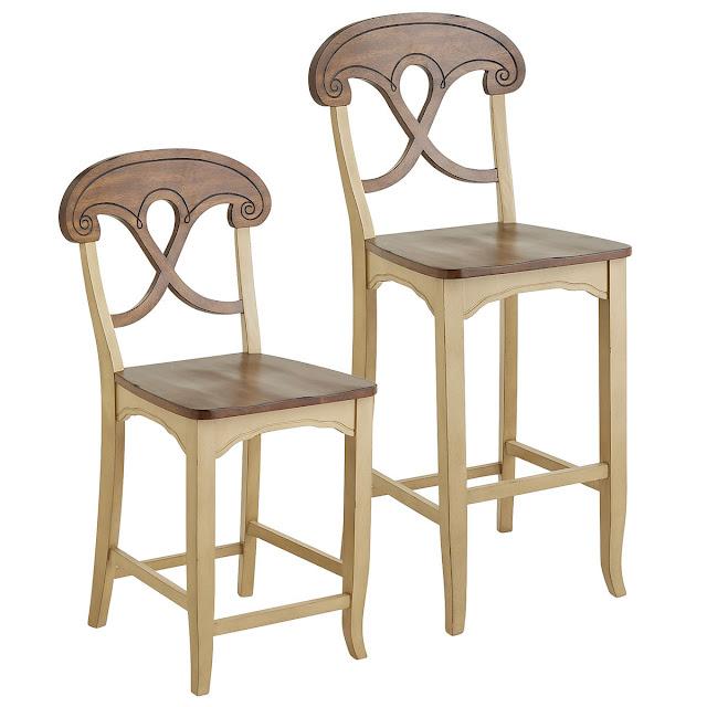 барные стулья разного размера