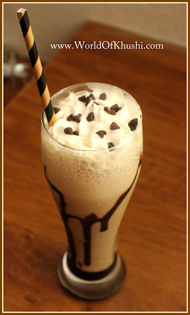 KhushiWorld_ColdCoffeeWithIceCreamRecipe