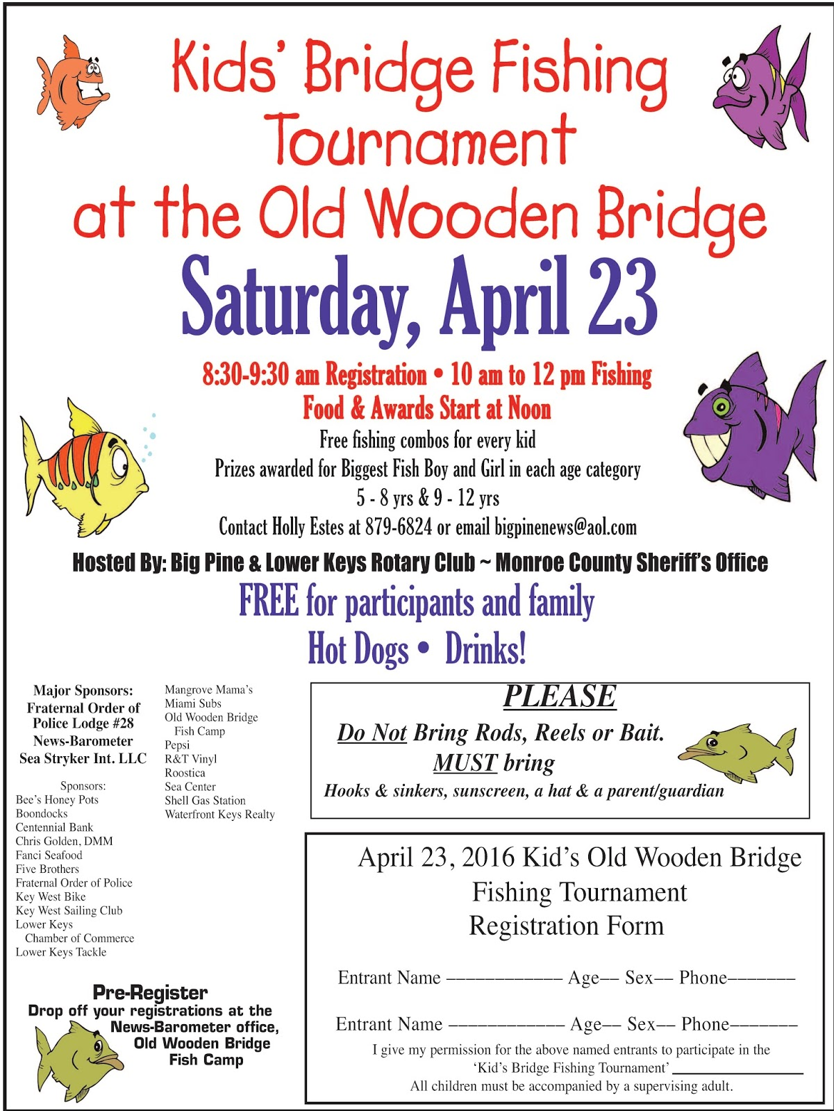 monroe county sheriff 39 s office kids fishing tournament on