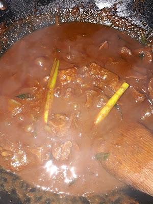 Daging Masak Hitam Nasi Kandar