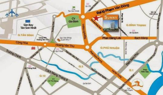 Vị trí Sunny Plaza