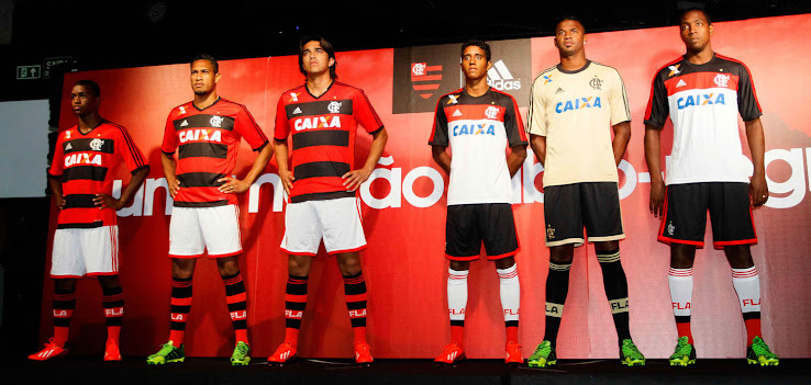 53807ea5600 Flamengo 13 14 (2013-14) Adidas Home and Away Kits - Footy Headlines