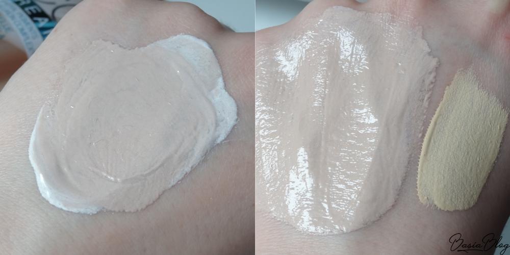 Krem CC Eveline Magical CC Cream, multifunkcyjny podkład SPF 15 50 Light Beige recenzja blog swatch