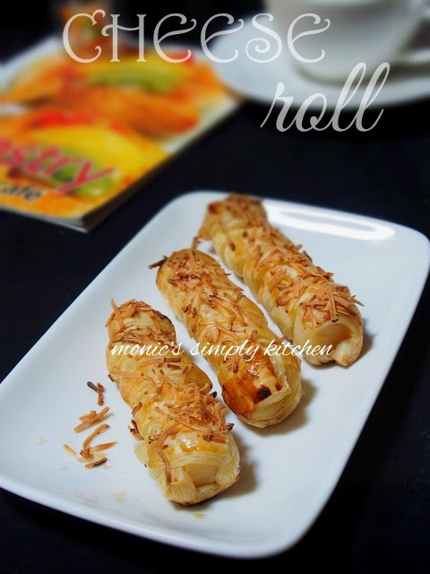 cheese roll puff pastry instan