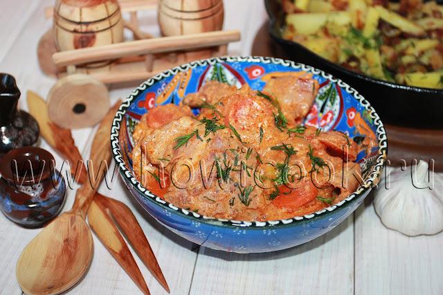 рецепт кролика по-кавказски