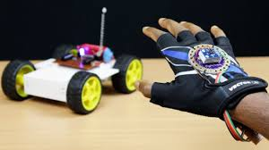 Hand Motion Controlled Robotic Vehicle