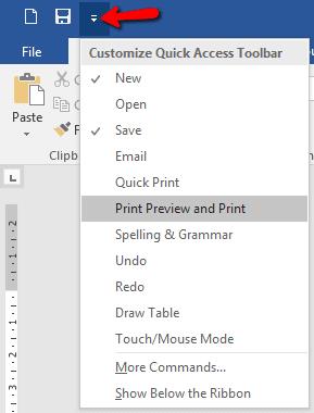 Cara Memunculkan Toolbar Di Word : memunculkan, toolbar, Kerja, Cepat, Dengan, Quikc, Acces, Toolbar, Microsoft, Office, PAKAR, TUTORIAL