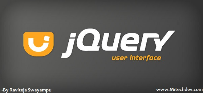 Jquery user interface tutorial