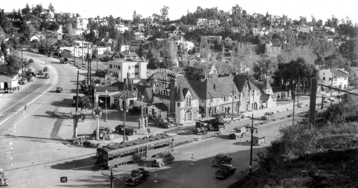 Rare Photos Of The Lost French Village Of Hollywood In The