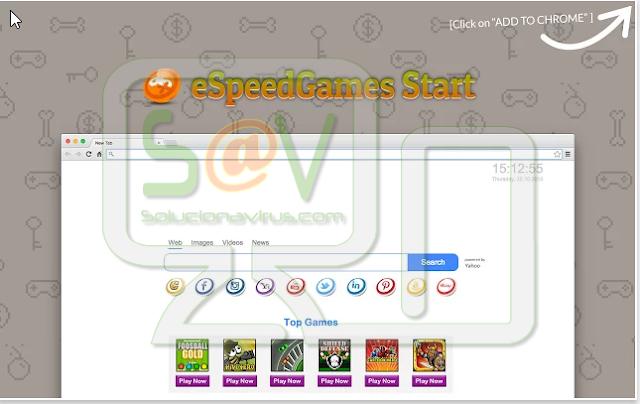 eSpeedGames Start (Adware)