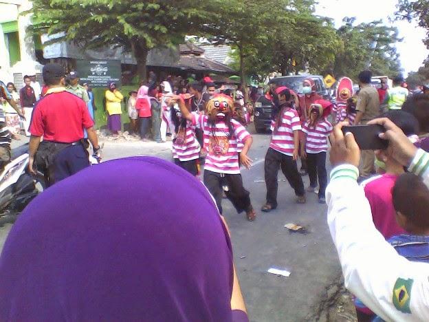 Foto SDI Al Haddad  Karnaval Kecamatan Singgahan Tuban