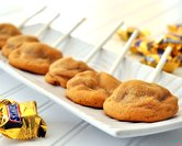Snickers Cookies on Sticks (or NOT)