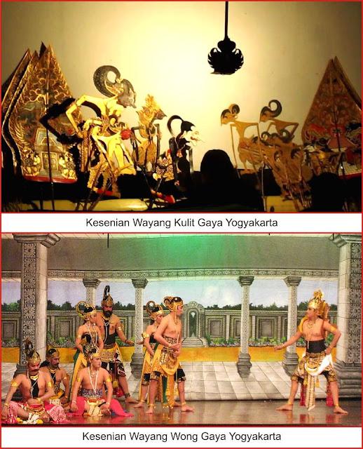 "kesenian tradisional ""wayang"" yogyakarta"