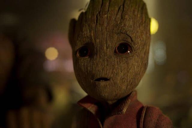 Vin Diesel berperan sebagai suara dari Baby Groot, Guardians of the Galaxy Vol.2