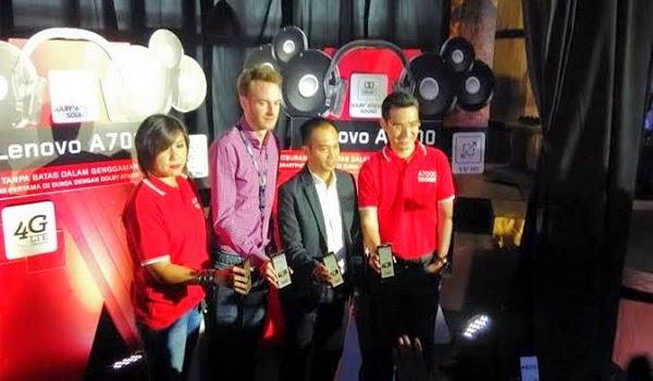 Launching Lenovo dan Lazada