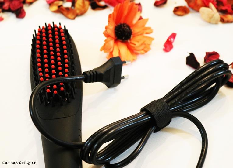 spazzola lisciante elettrica
