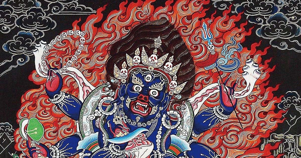 我喜愛的金菩提宗師佛號咒語-金菩提評價: 大黑天護法神