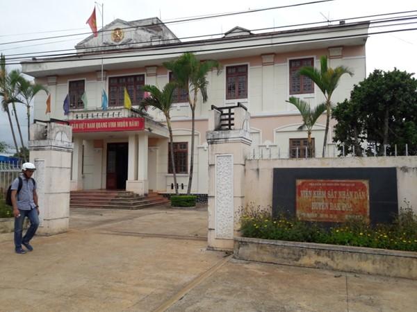 Gia Lai: Cho thôi chức Viện trưởng Viện KSND huyện Đắk Đoa