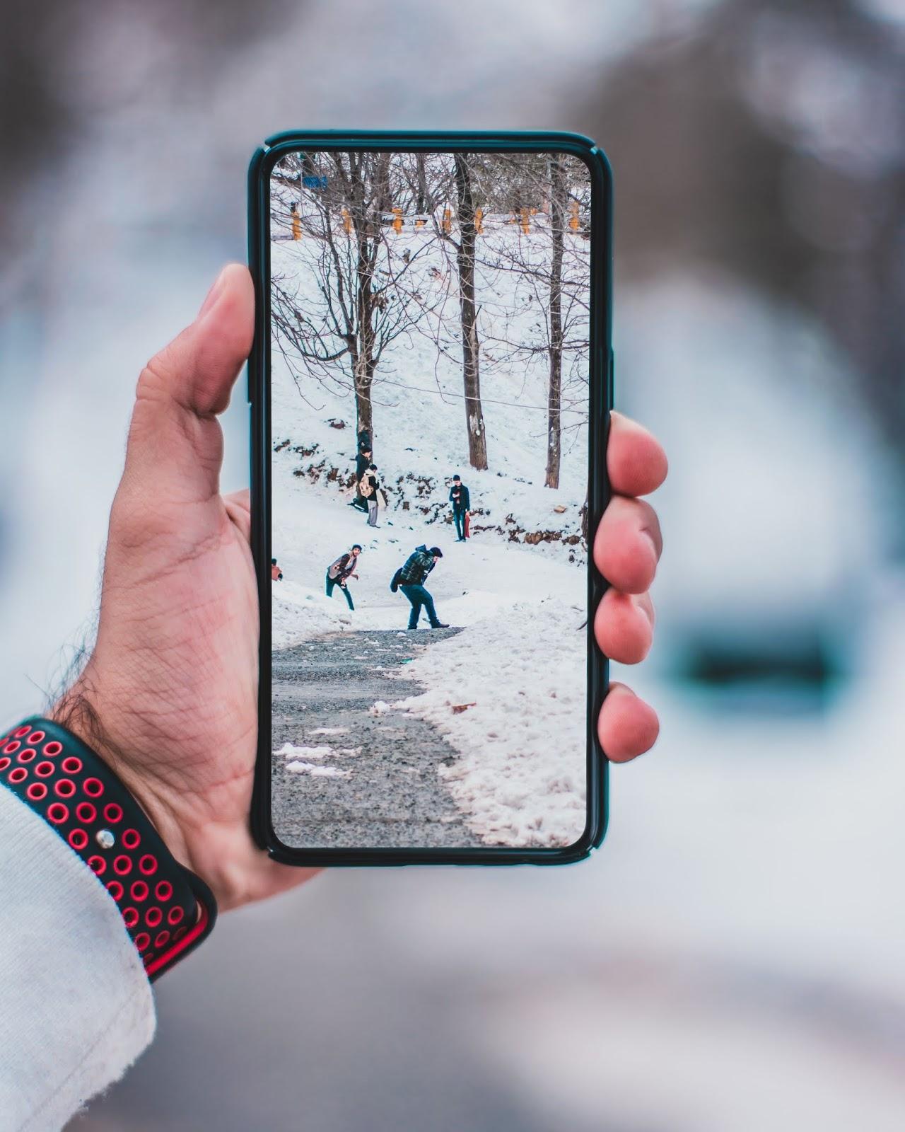 Smartphone ohne Notch